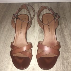Lucky Brand Sandal with Ankle Strap